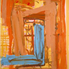 """""""A L.C. 1""""   190 x 142 cm. Oil on canvas. 2001"""