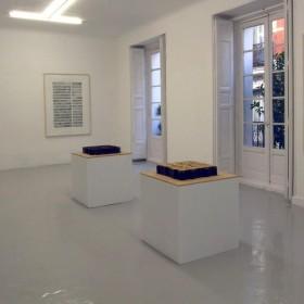 """Partial view from the exhibition """"Habitaciones prohibidas"""" (Forbidden rooms)at Juana de Aizpuru gallery"""