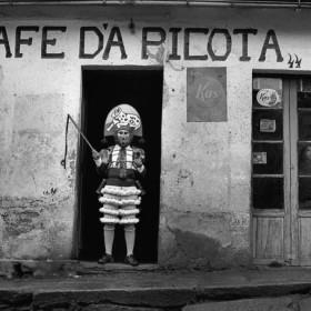 """EL Peliqueiro, Laza"" 1975 Series: España Oculta. Black and white photograph. Edition of 7 + 2 A.P. 53 x 81 cms. Edition of 7 + 2 A.P. 75 x 115 cm."