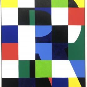 """Delire de lire (III)"" 162 x 130 cm. Óleo sobre tela, 2019."