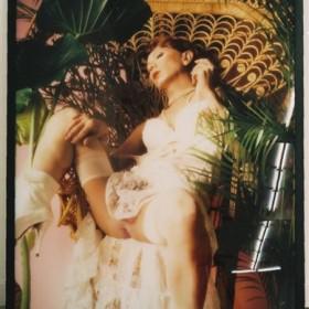 """""""Self portrait Actress/ Alter Silvia Kristel 1"""" 120 x 95 cm. Edición de 10 ejemplares. 1996"""