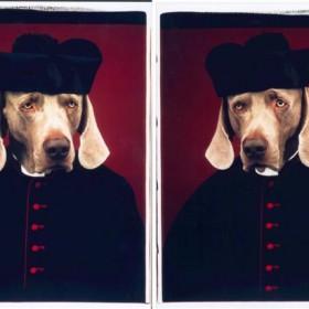 """""""Canon Black"""" 2 piezas c/u  de 60 x 50 cm. Polaroid. 2000"""