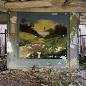 """""""Sanatorium"""" Serie: Estados imaginarios, 110 x 140 cm, c-Print siliconada bajo metacrilato y sobre aluminio, bastidor de madera, Edición de 5 ejemplares +1 P.A. 2005"""