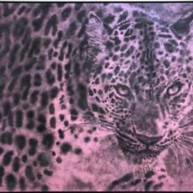 """JIRI DOKOUPIL.  """"PENSANDO"""". 145 x 200 cm. Acrílico y hollín  sobre lienzo/ Acrylic and soot on canvas. 2018"""